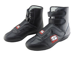 Simpson Stealth Sprint Leather Race Boots Sfi Approved Oval/drag Uk5 - Uk13