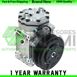 New AC Compressor and Clutch York 209-210 6 Grooves