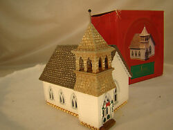 Beautiful Hallmark Country Church With Christmas Decorations - Heavy Quality- Ho