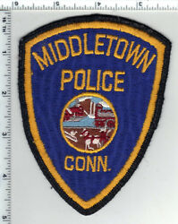 Middletown Police Connecticut 3rd Issue Shoulder Patch