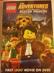 LEGO The Adventures of Clutch Powers (DVD 2010) *NEW* SHIPS FAST Mon-Sat!