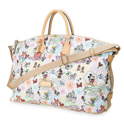 NWT Disney Collection Sketch Colorful Weekender Dooney & Bourke Free Shipping