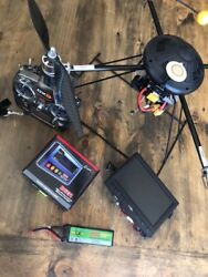 Turbo Ace X830-d Quadcopter W/transmitter Video Monitor Much More