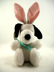 The Easter Beagle Snoopy Plush 1968 United Feature Syndicate 12quot; with Tag