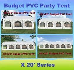 20and039x20and039 26and039x20and039 32and039x20and039 40and039x20and039 Budget Pvc Party Wedding Tent Shelter Canopy