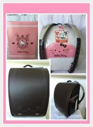 Japanese Backpack Fit-chan Randoseru Sanrio Hello Kitty One Touch Lock For Girls