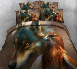 Quietly Watch 3d Printing Duvet Quilt Doona Covers Pillow Case Bedding Sets