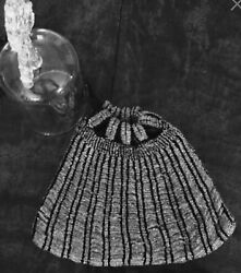 1920s Vintage Beaded Flapper Purse Evening Bag ~ Black Tie ~ New Year's Eve ~ !!