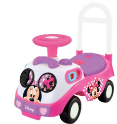 Kids Ride On Car Push Toy Toddler Girls Outdoor Toys Pink Wheels Wagon Buggy New