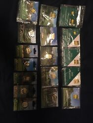 Set Of Masters Golf Commertive Pins 2001 Thru 2018