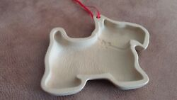Clay SCOTTY COOKIE MOLD   Terrier Scotty Unused Perfect 5 34