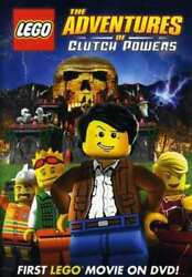 LEGO: The Adventures of Clutch Powers NEW DVD