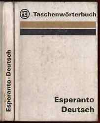 1984 Taschenworterbuch Deutsch-Esperanto Dieter Krause German Dictionary