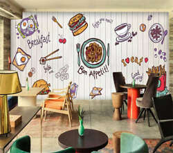 Enjoy Delicious Meat 3d Full Wall Mural Photo Wallpaper Printing Home Kids Decor