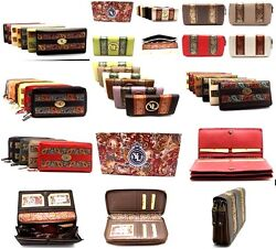 Closeout Lot Of 300 Yl Women Clutch Wallet And Zip Around Purse New In Box