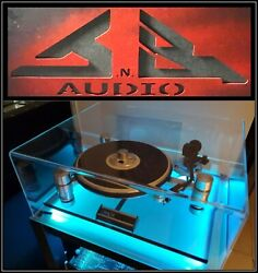 Oracle Delphi Mk V Jnb Audio Pro Series Turntable Dust Cover St -= Made In Usa =