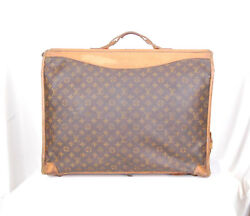 Vintage Auth LOUIS VUITTON portable Homme large travel garment bag from the 70s