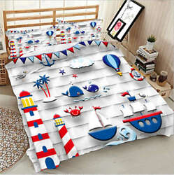 Lovely Sea Rover 3d Printing Duvet Quilt Doona Covers Pillow Case Bedding Sets