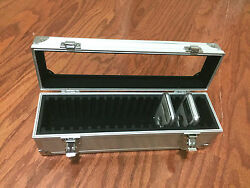 Aluminum Storage amp; Display Box Case Holds 20 PCGS NGC ANACS Coin Holders Slabs $28.99