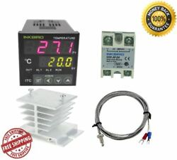 AC 100 - 220V ITC-100VH Outlet Digital PID Thermostat Temperature Controller