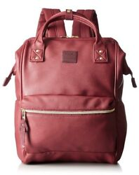 From OSAKA Anello Genuine Wine AT-B1211 Fashion Backpack Diaper Bag from Japan