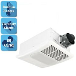 Ceiling Bathroom Exhaust Fan Light Space Heater Ventilation Vent Bath Electric