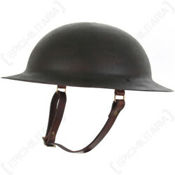 Ww1 Us M17 Helmet - Aged - Repro American Soldier Army Military Doughboy Steel