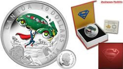 2014 Silver 10 Iconic Superman Comic Book Covers Action Comics 1 1938 Coin
