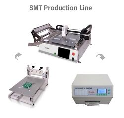 NeoDen SMT Pick and Place Machine NeoDen3V-Std 23 Feeders for Prototype LED 0402