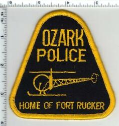 Ozark Police Alabama Aviation Shoulder Patch From The Late 1970and039s