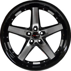 4 GWG DRIFT 20 inch Black Machined Rims fits CHEVY IMPALA 2000 - 2013