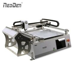 For Prototype Cheap SMT Machine Pick Place 2 Cameras NeoDen3V-Std 23 Feeder 0402