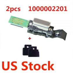 US Stock 2pcs Original Roland Eco Solvent Printhead DX4 with Wipers -1000002201