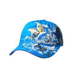 New Women Adjustable Butterfly Flower Fine Embroidery Baseball Golf Hats Cap CMX