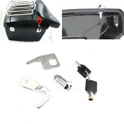 Tour Pak Rear Trunk Lock & Keys Set For 2007-2013 Harley Street Glide FLHX