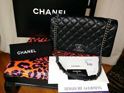 Chanel Rare Runway Pristine Black Medium Quilted Shoulder Bag $3,870.00