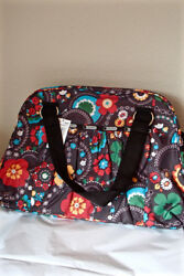 LESPORTSAC DELUXE ABBEY CARRY ON LUGGAGE  CROSS BODY BAG WEEKENDER LARGE NWT