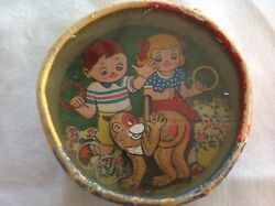 Vintage Dexterity Game - Made In Japan Two Sided Monkey/children Theme