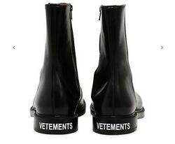 $2000 Vetements X Church's Shannon Spazollato Leather Boots