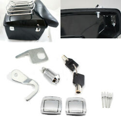 Tour Pak Premium Latches Hardware Lock & Key Kit For Harley CVO Road Glide 2012