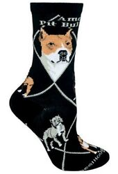 AMERICAN PIT BULL TERRIER Socks~WheelHouse~M~Mix n' Match Get 4th Pair FREE Sale