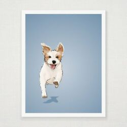 Ginny - Jack Russell Terrier - Art Print
