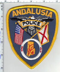 Andalusia Police Alabama 2nd Issue Shoulder Patch