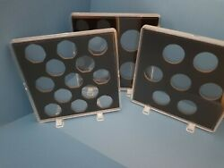 Acrylic Coin Display Cases For Old 50p New 50p10p1 Pound2 Pounds Coins