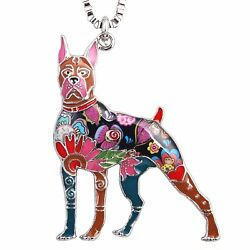 Boxer Dog Necklace Gifts for Owners Dog Lovers Pendants used as Keychain Jewelry