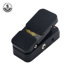 Sonicake 2 in 1 Volume Wah Footswitch Guitar Effects Pedal with Original Adapter