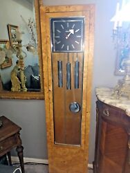 howard miller clock  designed by George Nelson extremely rare.grandfather