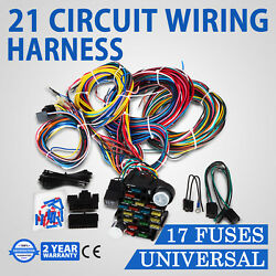21 Circuit Wiring Harness Street Universal Wire Kit Wires Air Conditioning