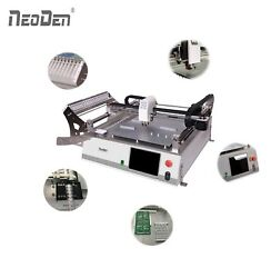 Latest Cheap SMT Pick and Place Machine Vision System 23 Feeders NeoDen3V-Std