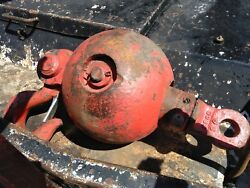 Heavy Equipment Crain Ball And Hook